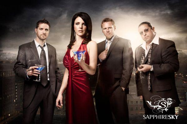 Sapphire Sky : Wedding Reception Band