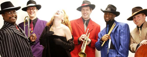 Gwen Hughes and The Retro Jazz Cats : Wedding band