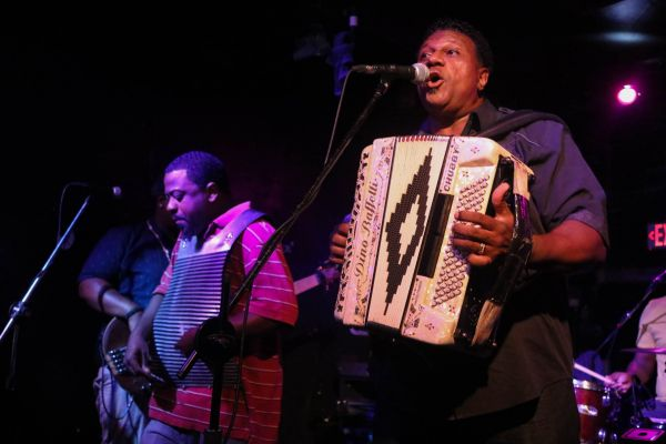 Chubby Carrier and The Bayou Swamp Band : Zydeco Acts