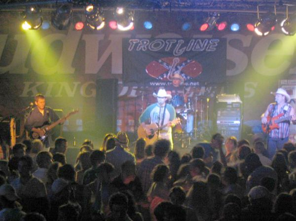 Trotline Band - country band for fraternity parties