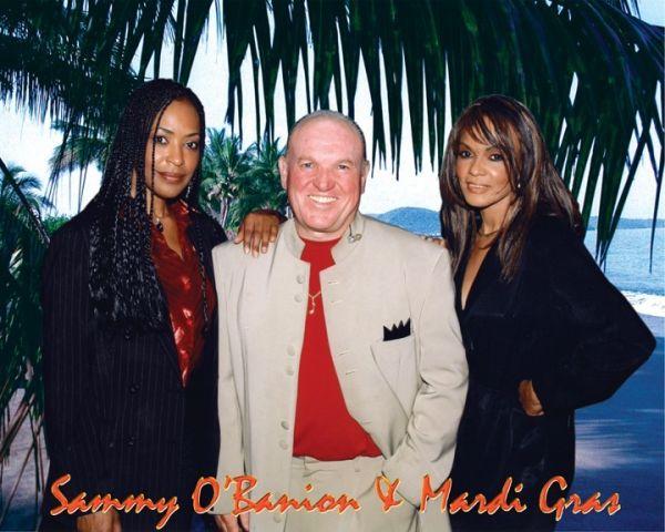 Sammy O'Banion with Mardi Gras : Wedding Reception Band